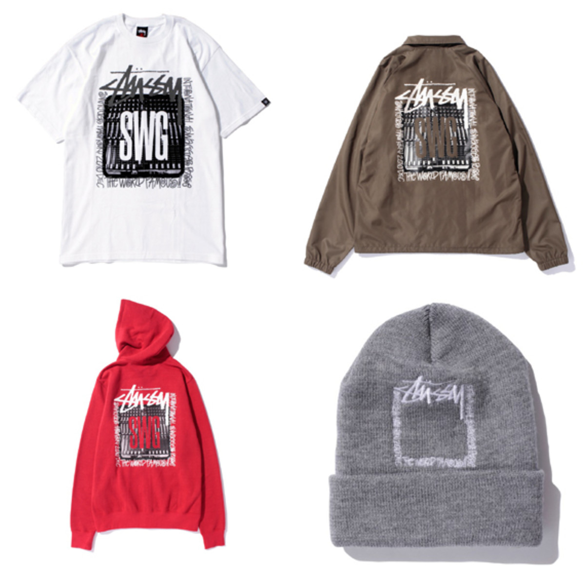 de9ca0ab67 SWAGGER x Stussy – New Harajuku Store Opening Collection - Freshness Mag