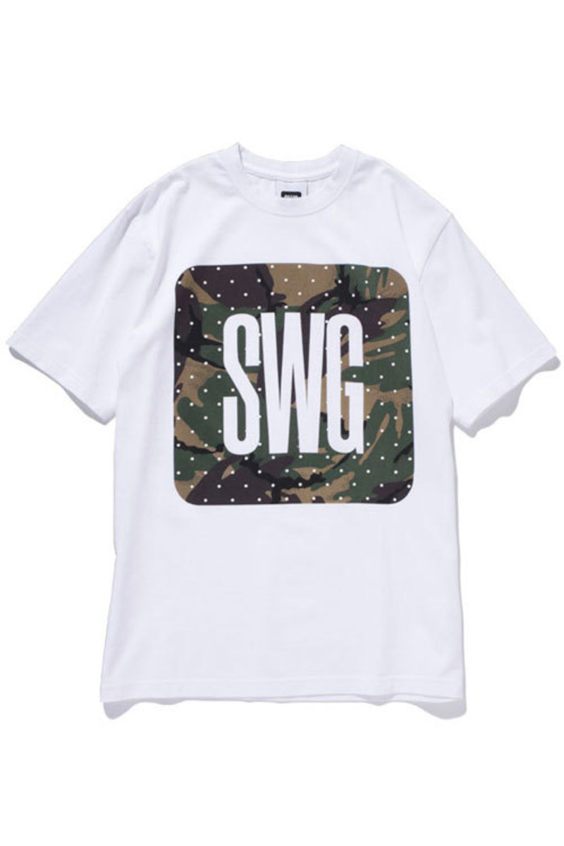 Dot Camo T-Shirt White