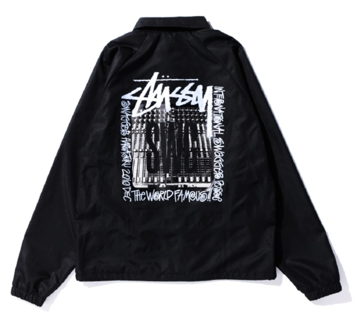 Coach Jacket Black 2