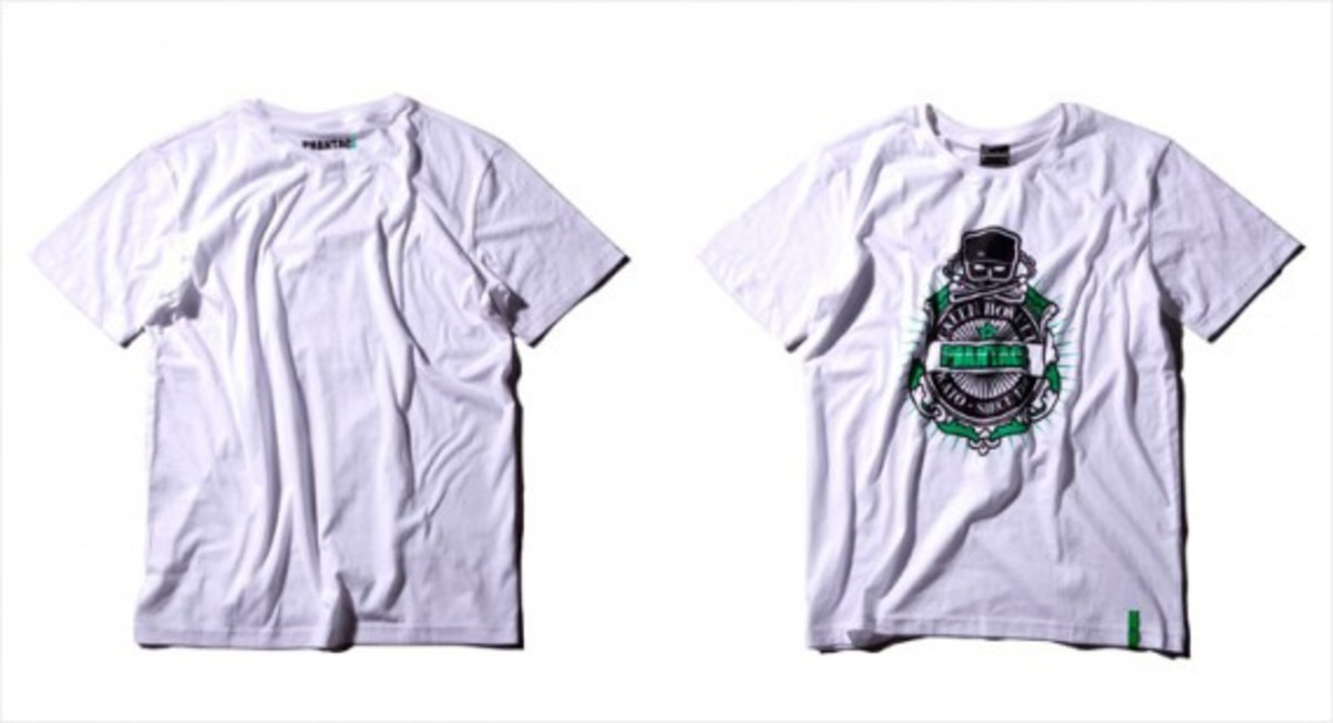 Green Hornet T-Shirt White