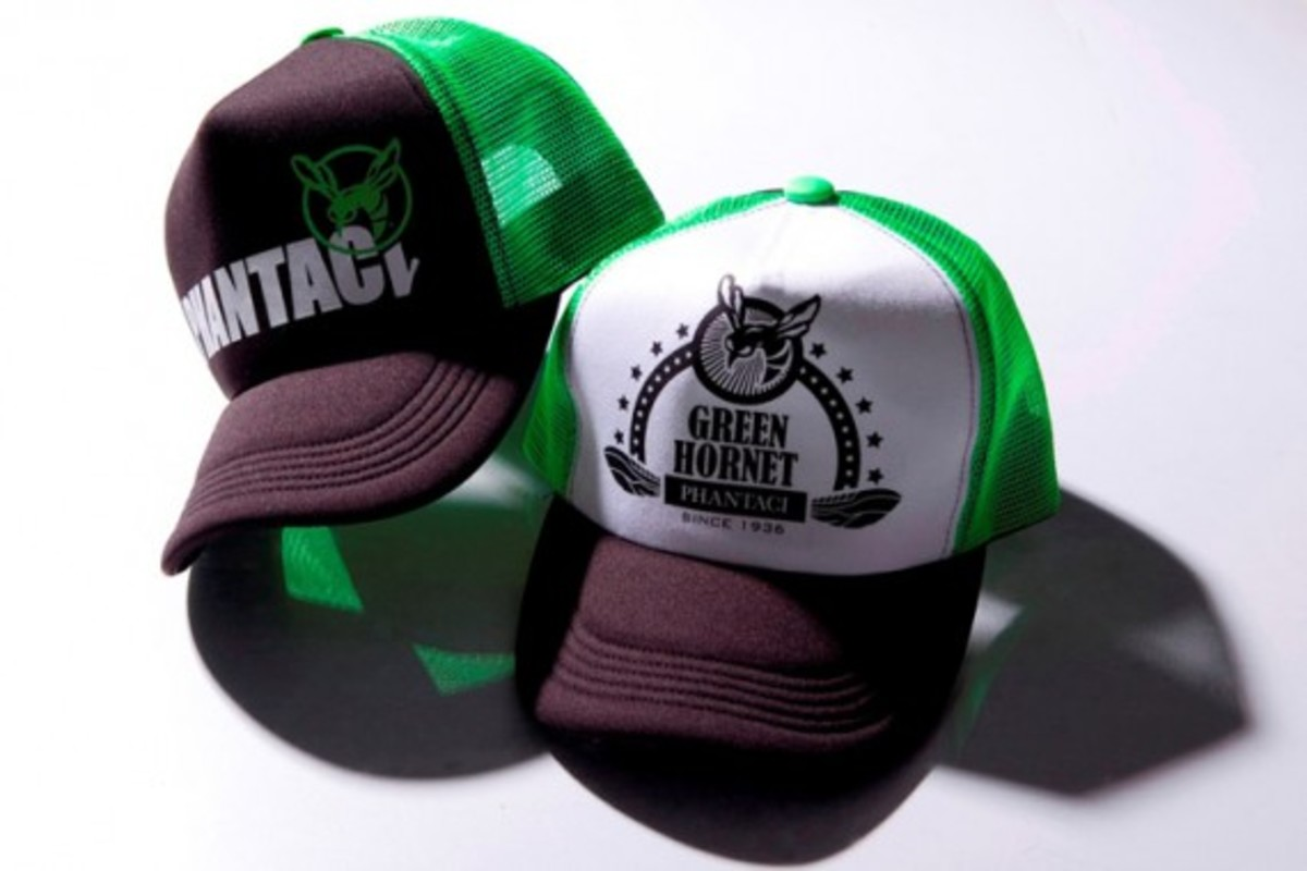 Green Hornet Trucker Caps