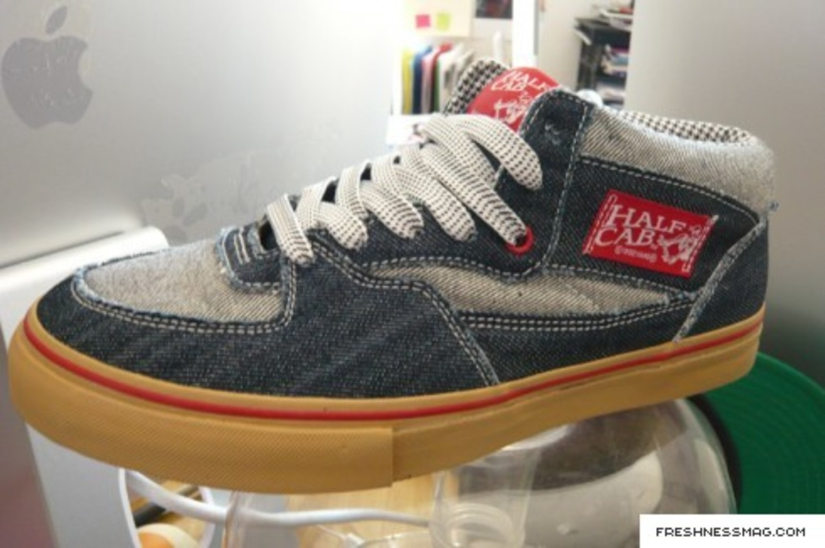 VANS x In4mation - Denim Half Cab