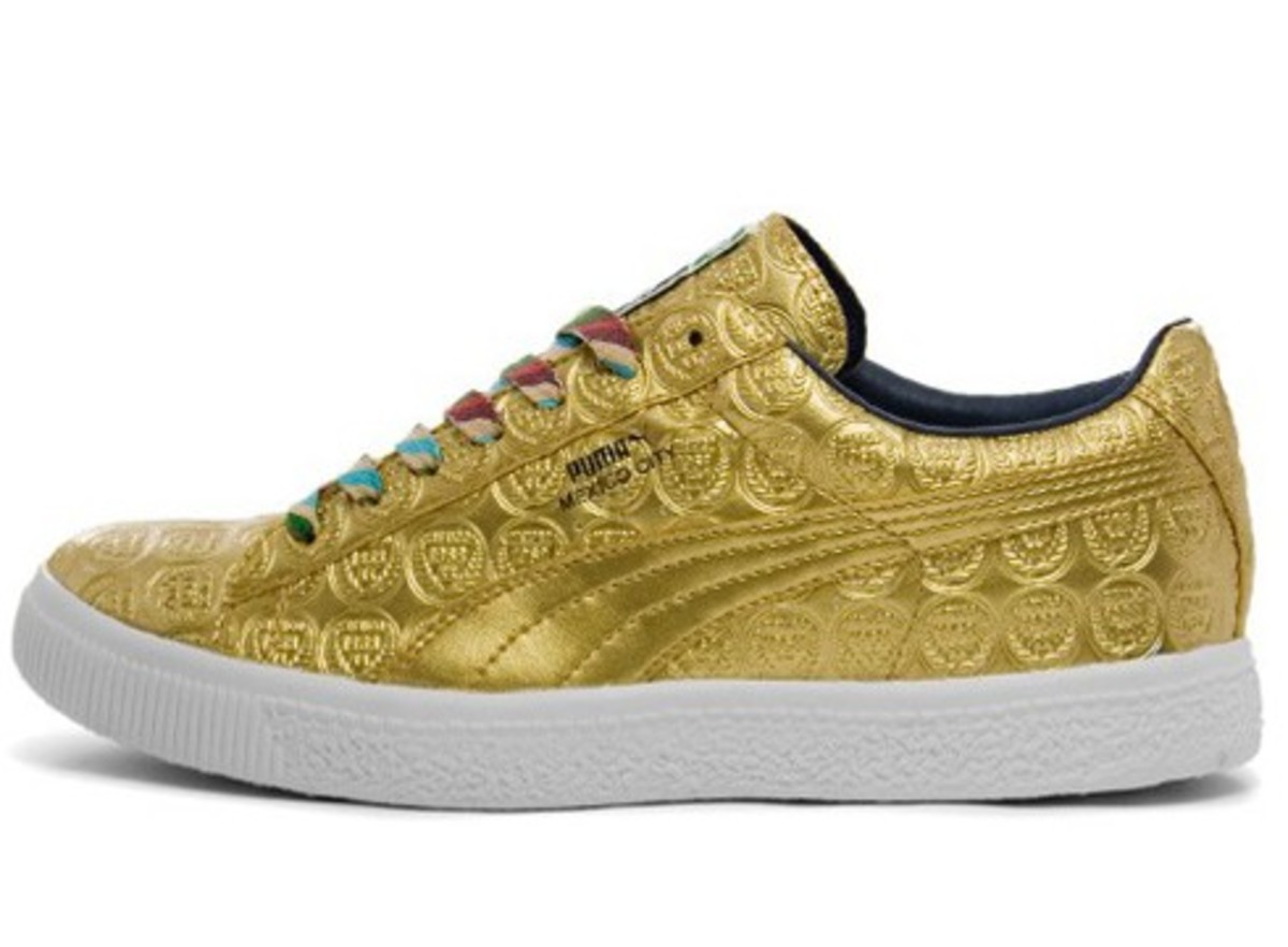 PUMA - Tommie Smith Gold Clyde List