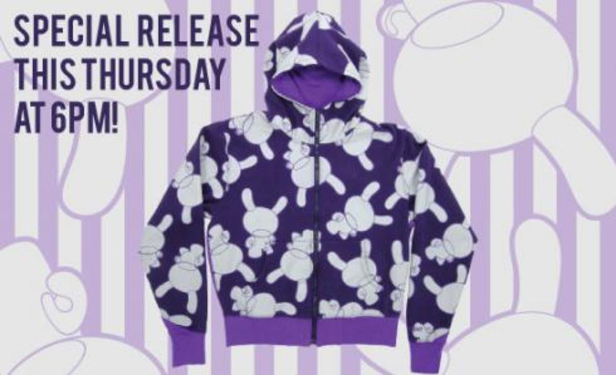 Limited Edition Kidrobot Dunny Hoodie - 0
