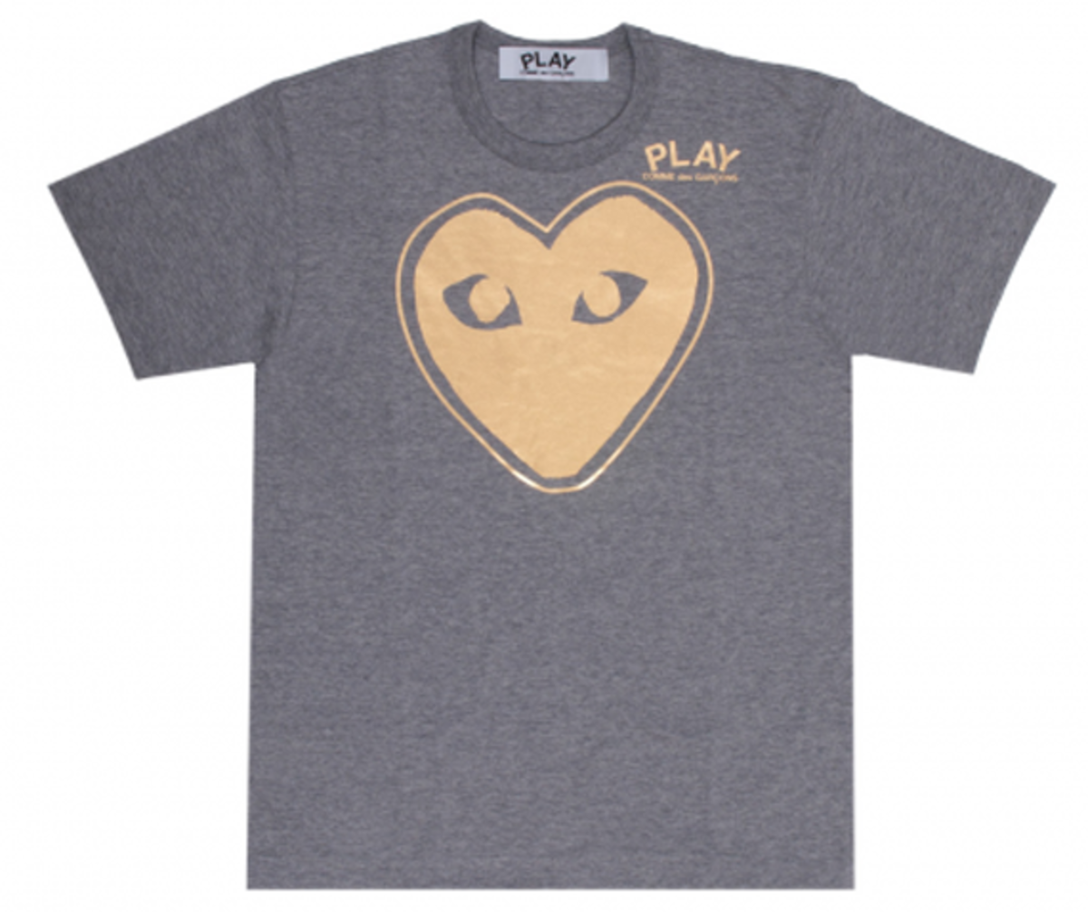 Play T-Shirt Grey 4