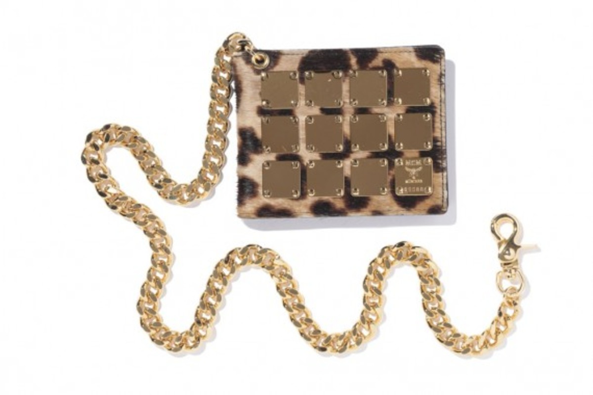 Wallet with chain