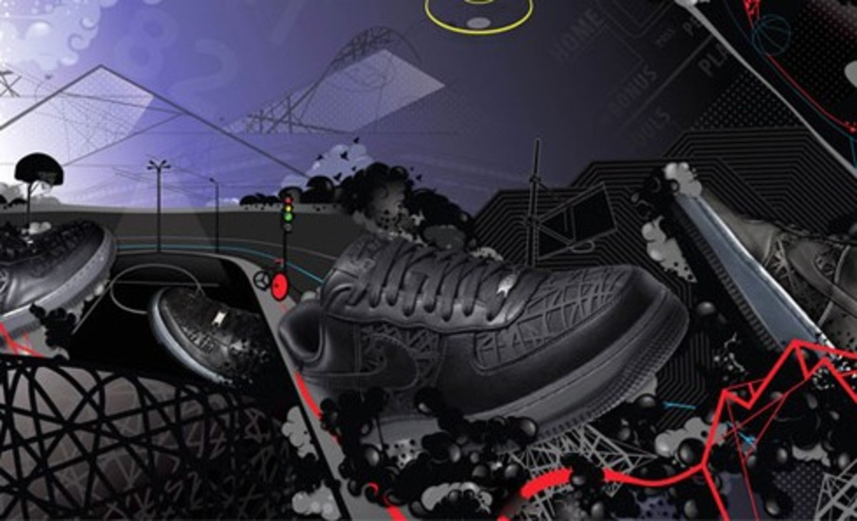 Nike Sportswear Air Force 1 Artwork by ilovedust
