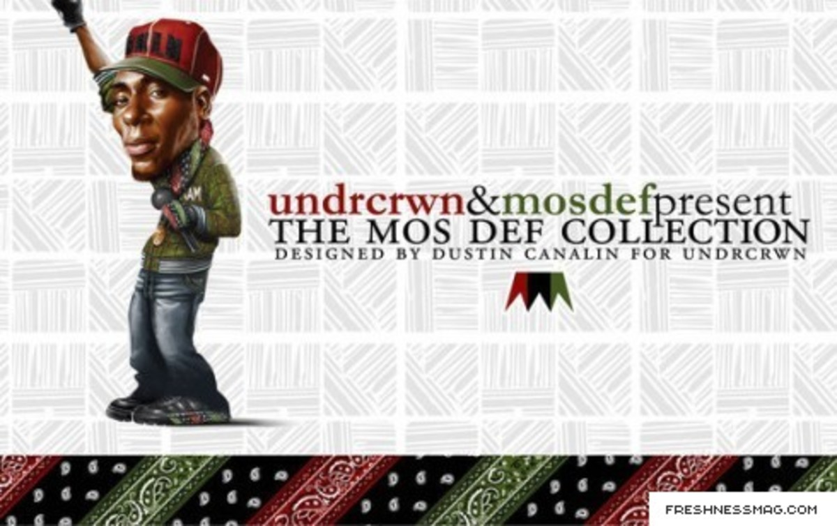The Mos Def Collection By Dustin Canalin for UNDRCRWN