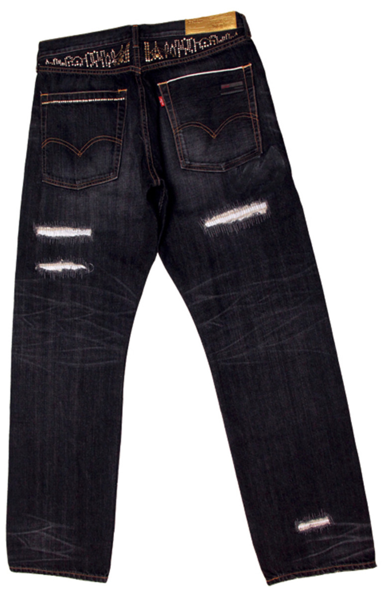 Levi's Fenom 207 NITRO Metal DISCO Decoration Crush Customize 2
