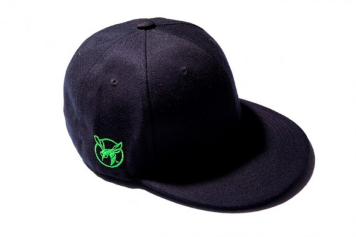 Green Hornet Baseball Caps