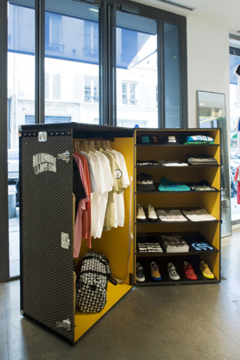 Colette - Billionaire Boys Club + Ice Cream x Goyard Trunk Display - 0