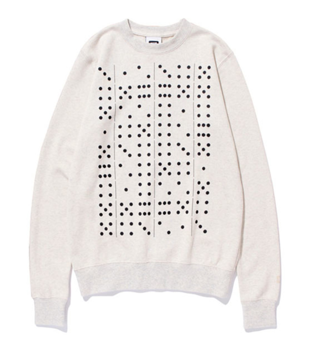 Domino Sweat Shirt Heather Gray