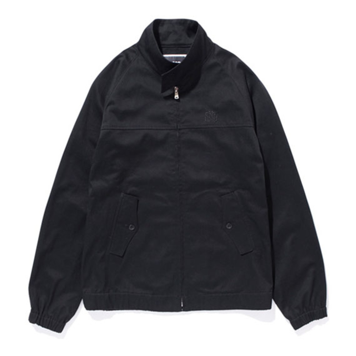 Cotton Swing Top Jacket Black