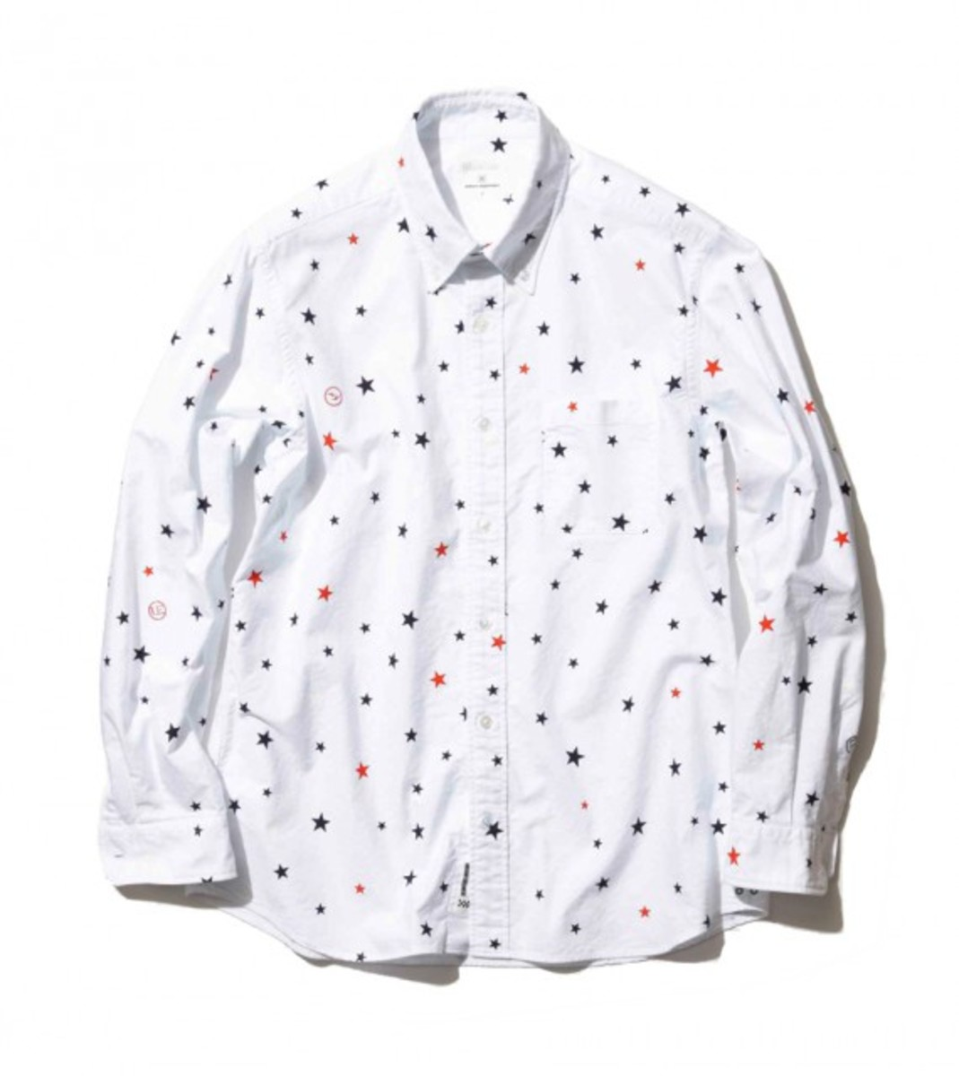 Cotton Oxford Star Print Shirt