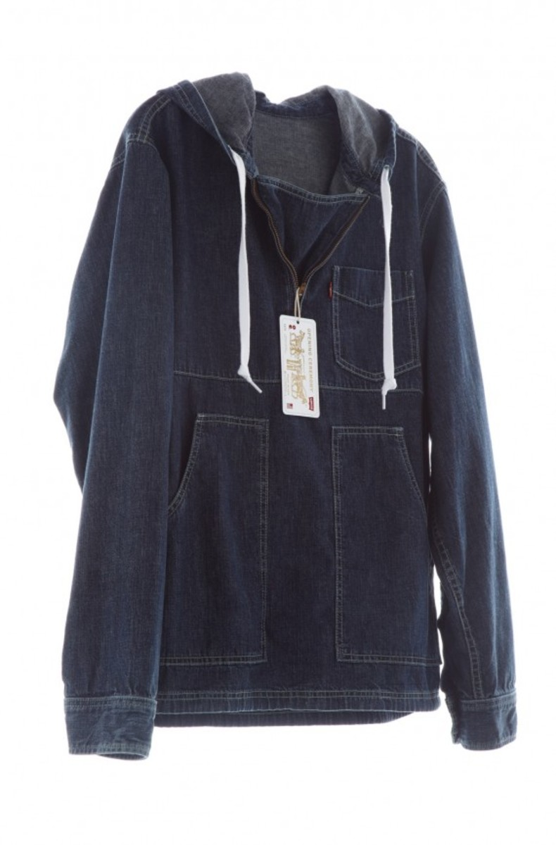 Levi's Chambray by Opening Ceremony_Men's_Pop-over_IndigoChambray_004