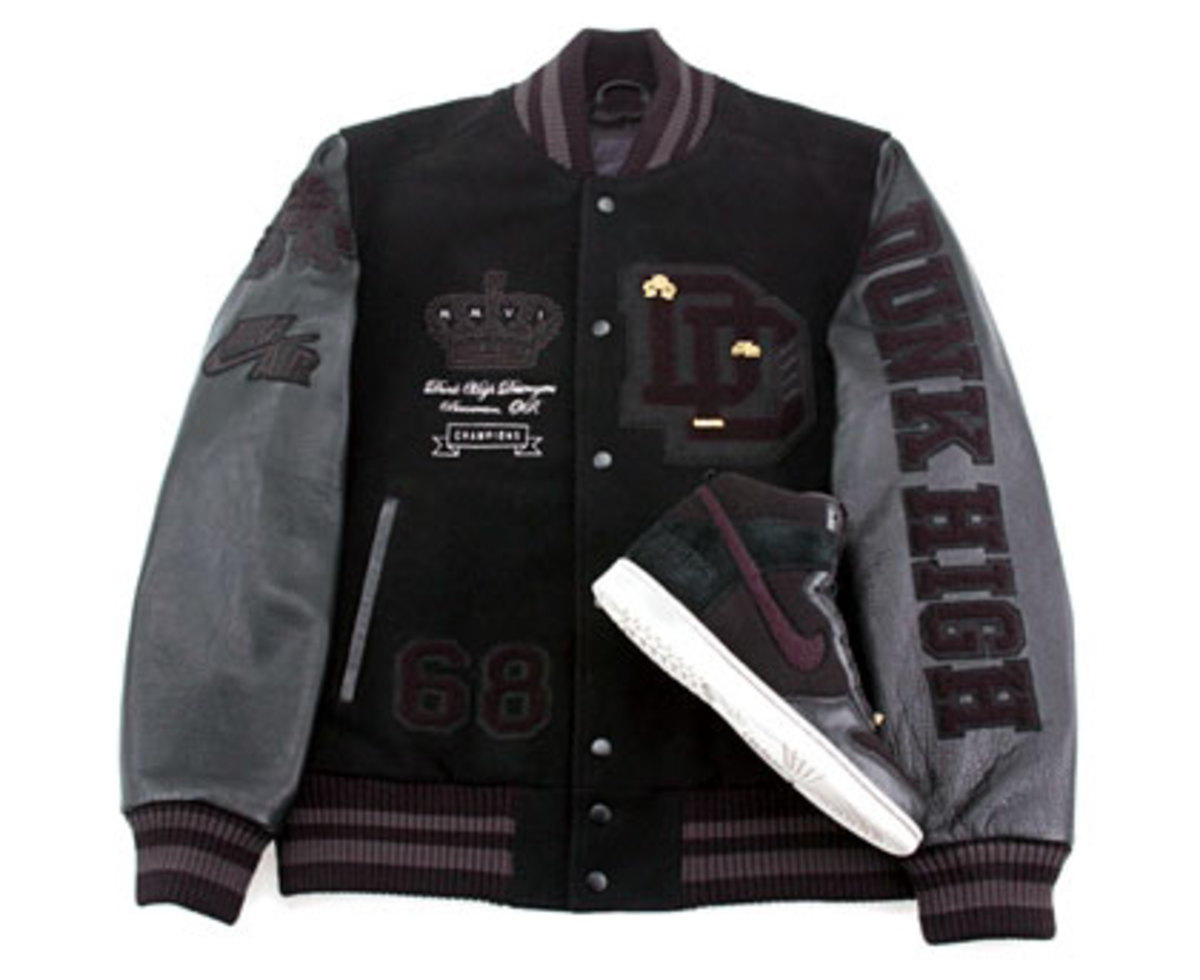 Nike x Destroyers - Dunk High + Letterman Jacket - 0