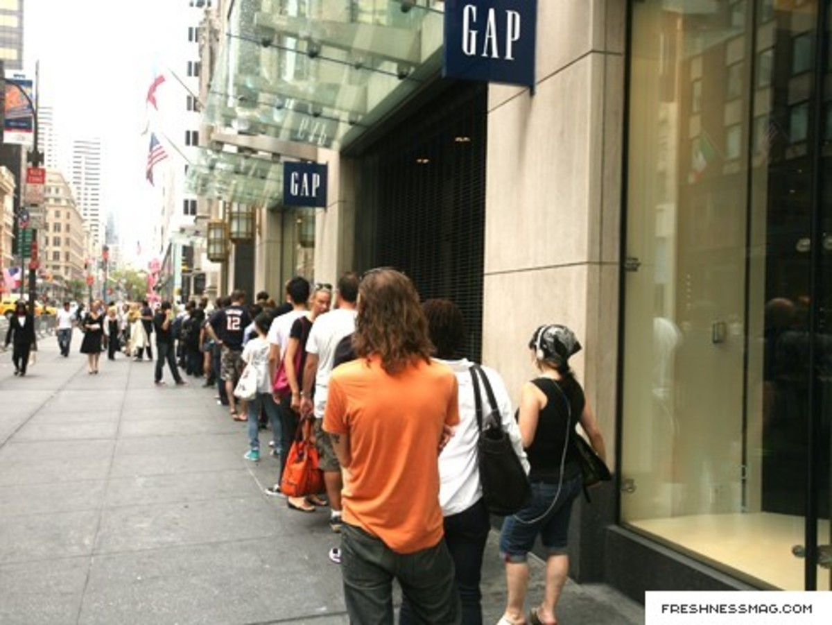 Colette x GAP - NYC Pop-Up Store - Opening Day