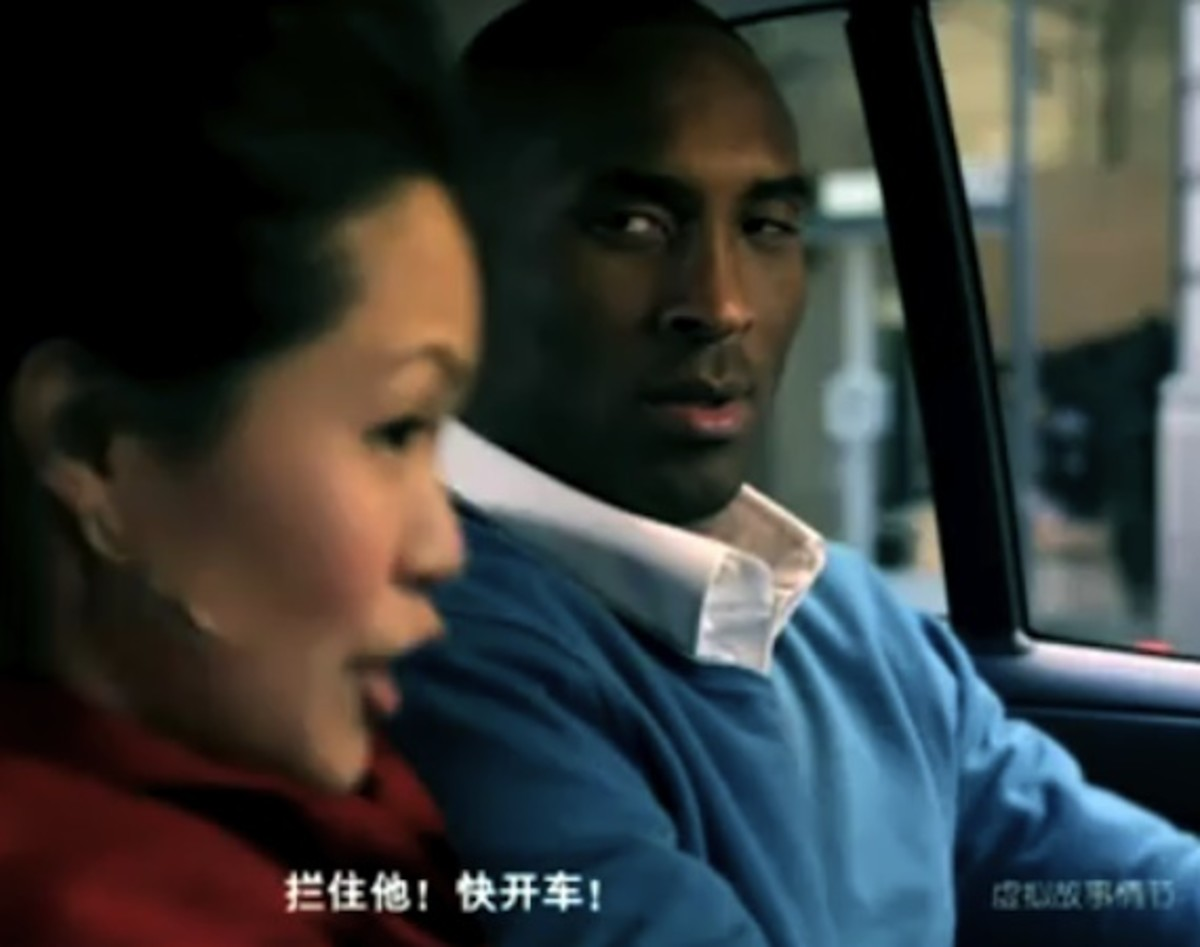 Kobe Bryant Stars In Chinese Smart Car Fortwo Brabus Commercial