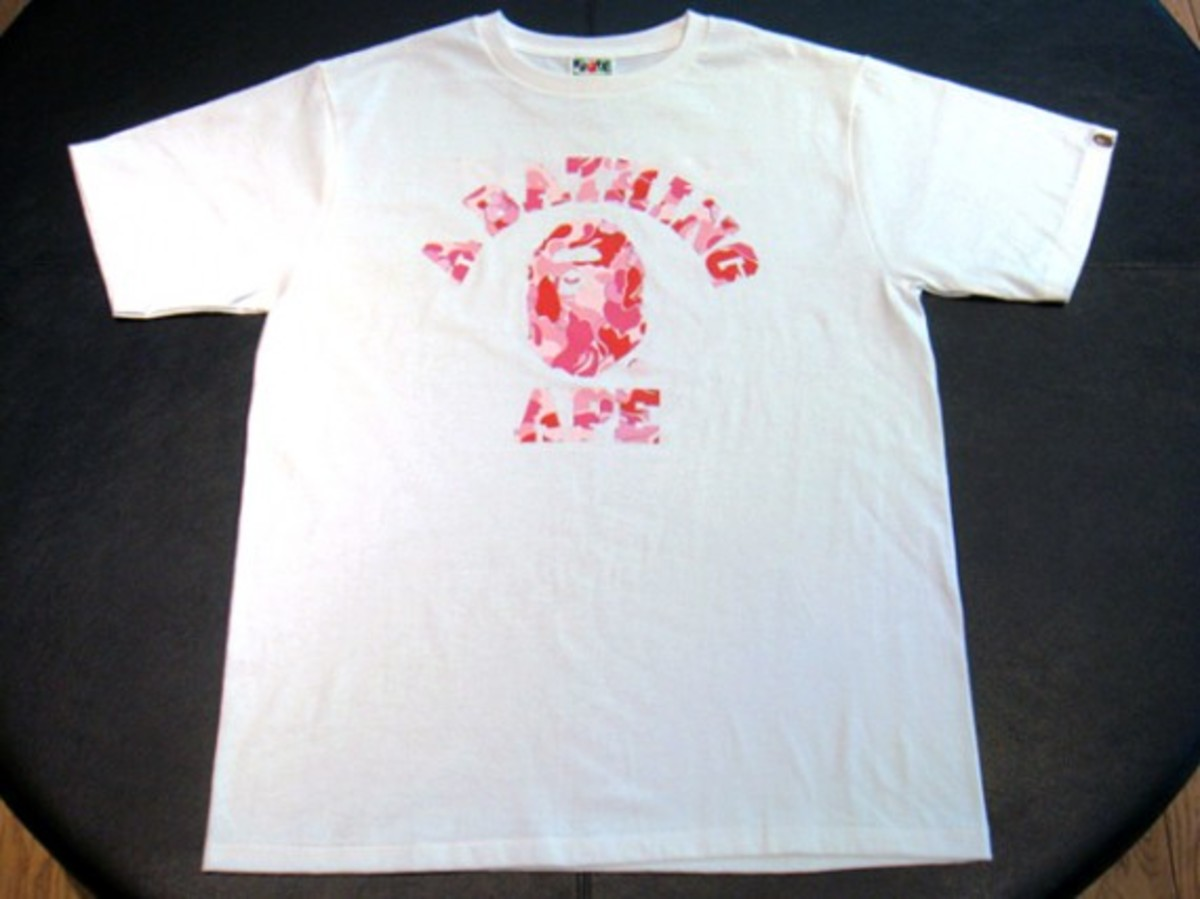 a-bathing-ape-t-shirt-pink