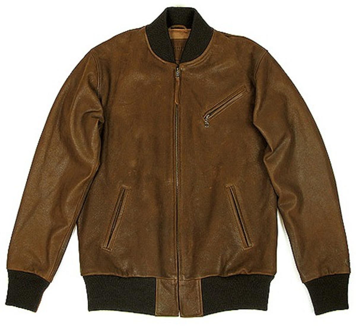 HUF - Leather Bomber Jacket