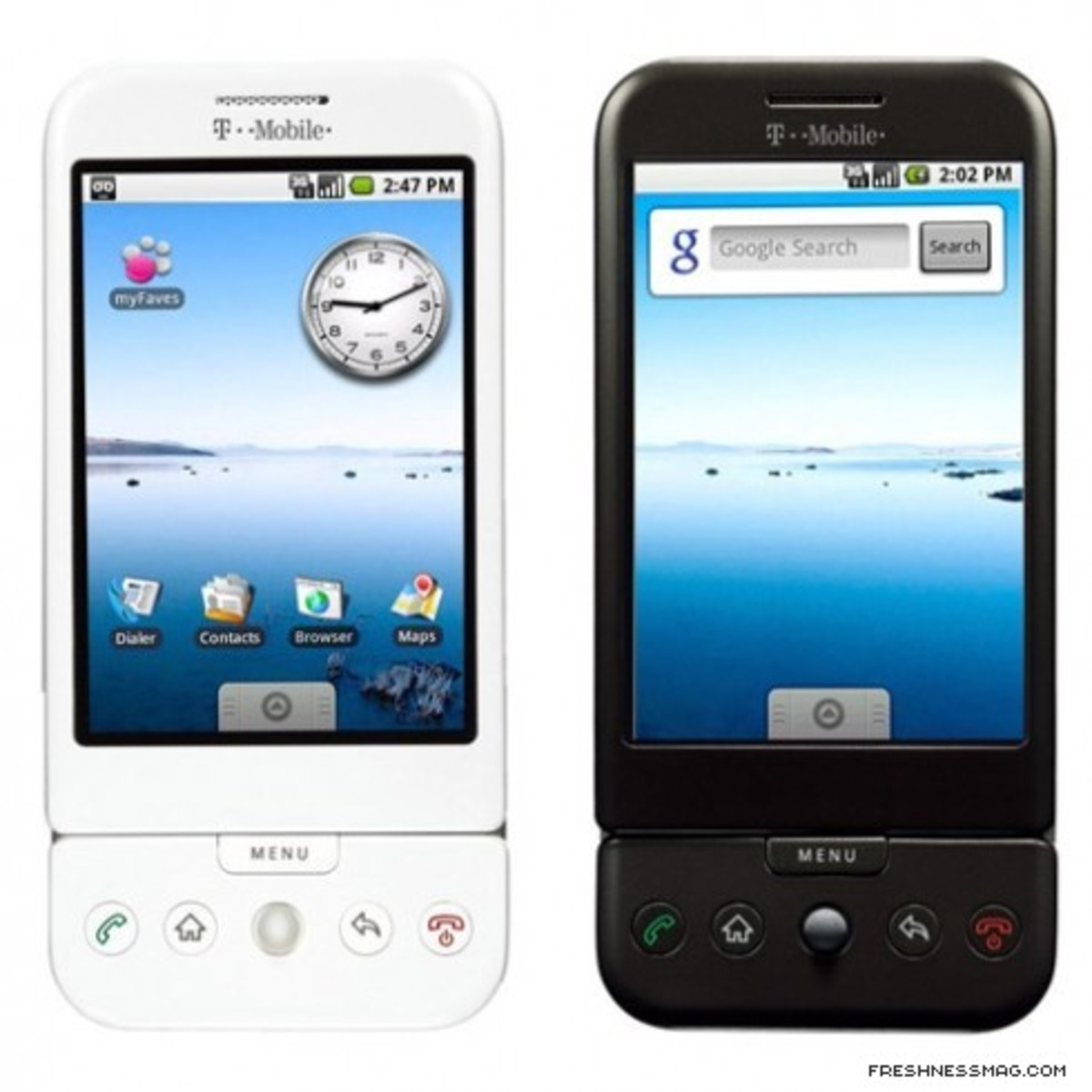 T-Mobile HTC G1 with Google Android