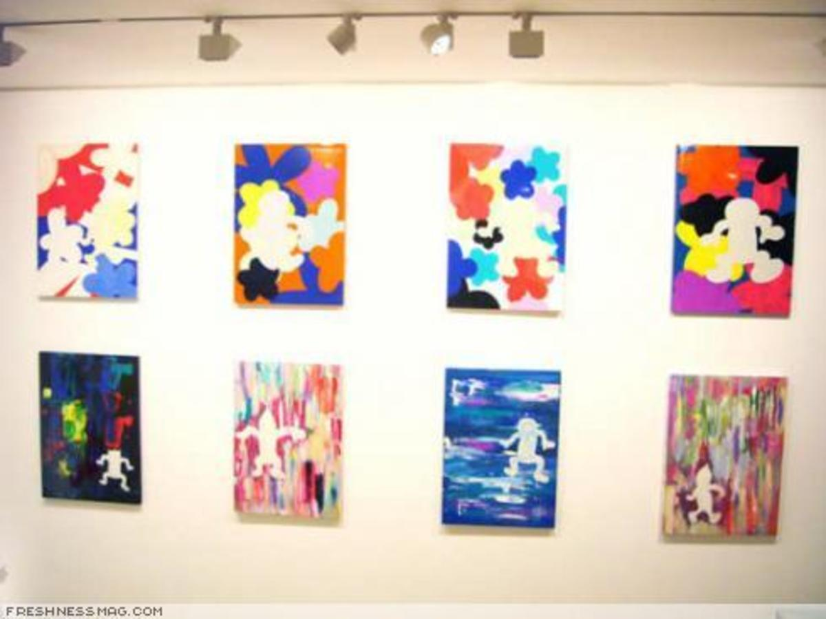 """The Flower"" Exhibition @ Reed Space Tokyo - 5"