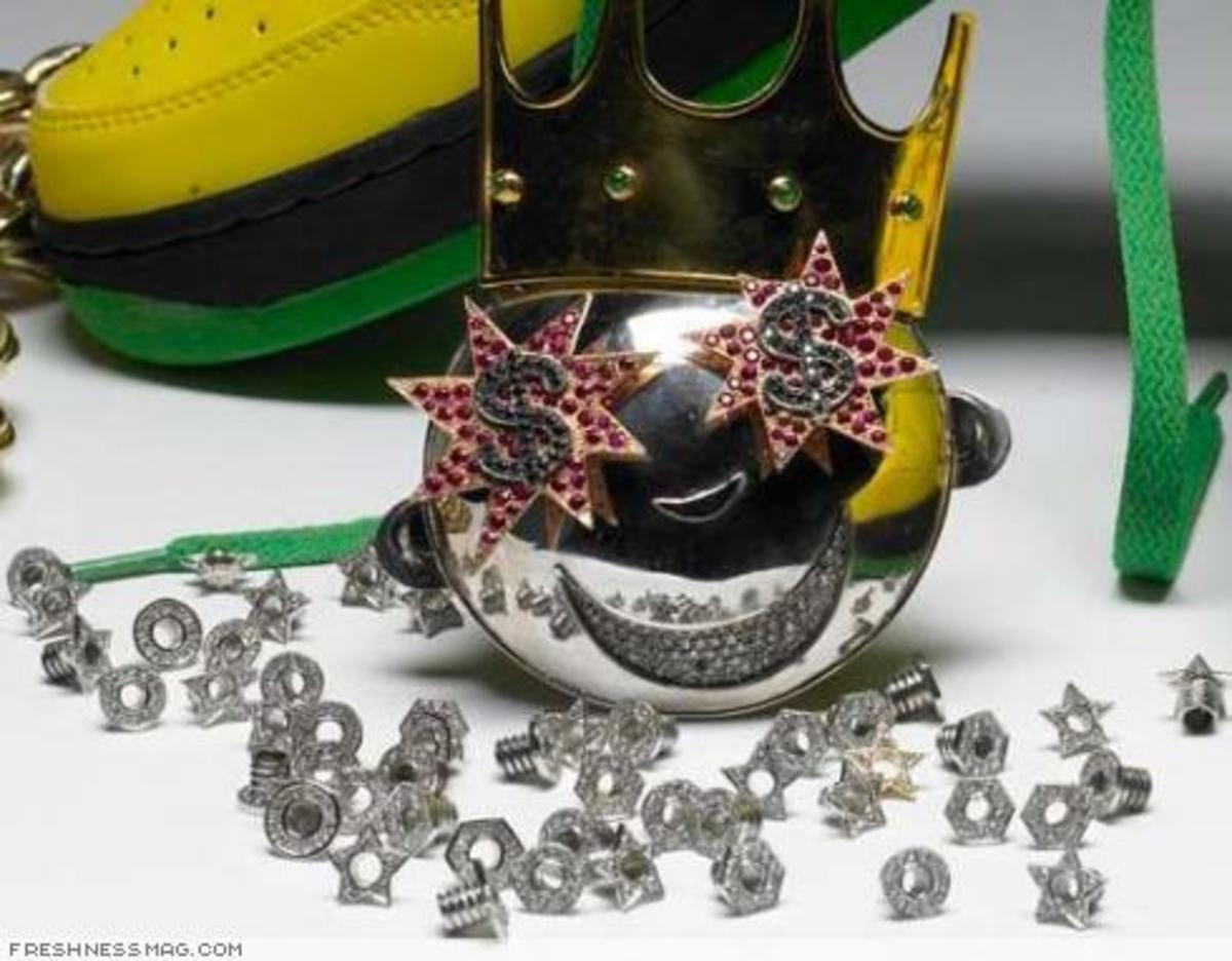 Greedy Genius - Diamond Eyelets - 1