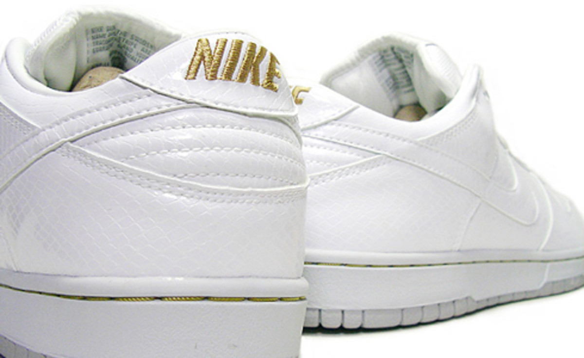 Babekubcity x Nike SB 4th Edition - White Snake - 0