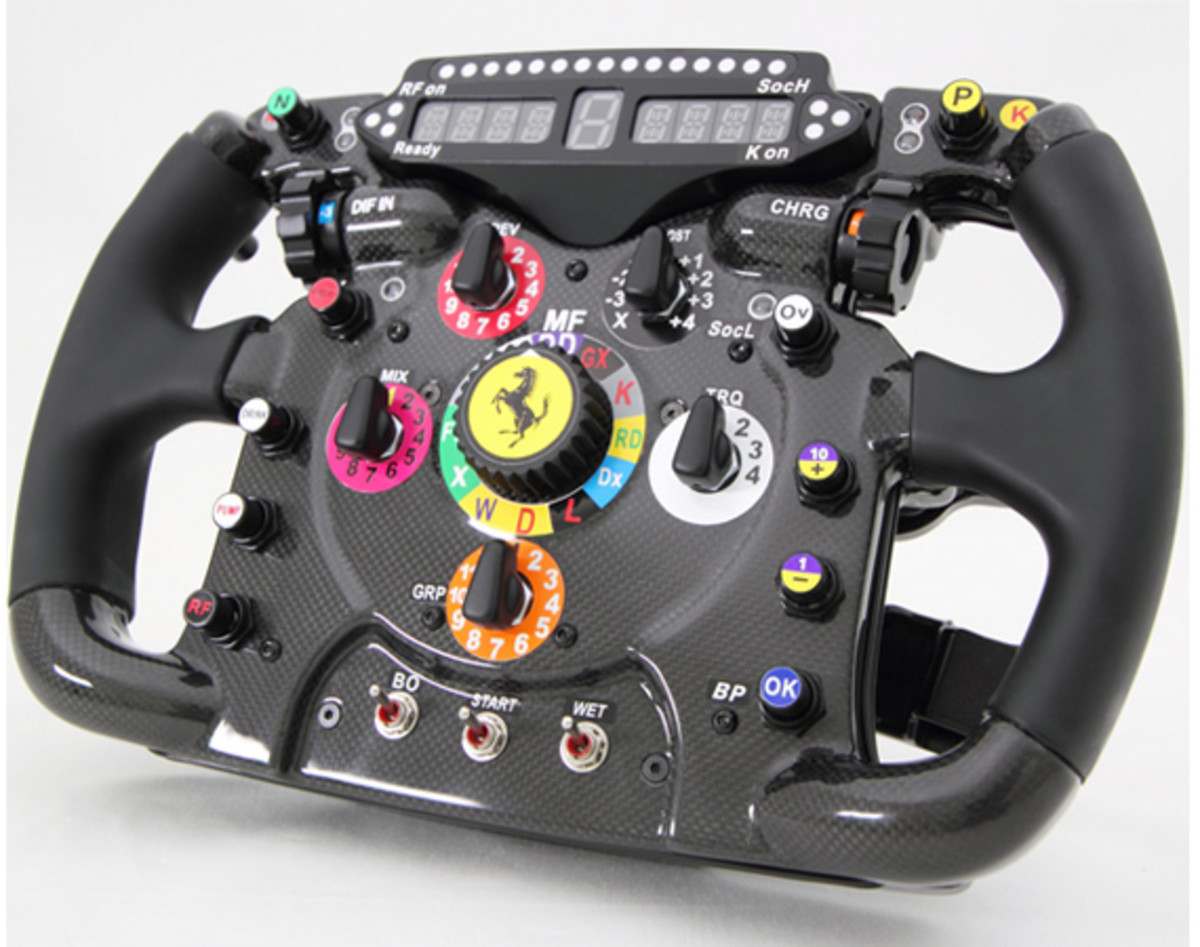 Ferrari - F1 Racing Steering Wheel Replica | Available Now