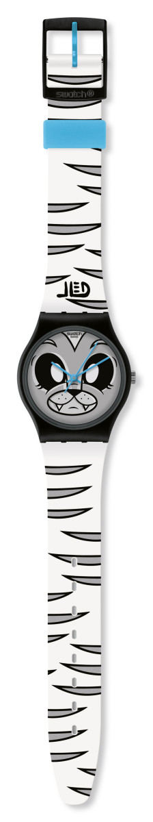 Kidrobot for Swatch - Joe Ledbetter Gent Watch