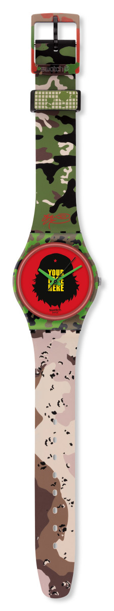 Kidrobot for Swatch - SSUR Gent Watch