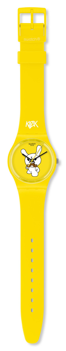 Kidrobot for Swatch - Frank Kozik Gent Watch