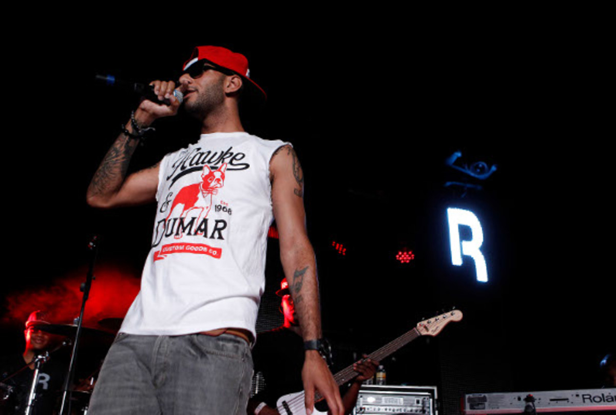 Swizz on stage