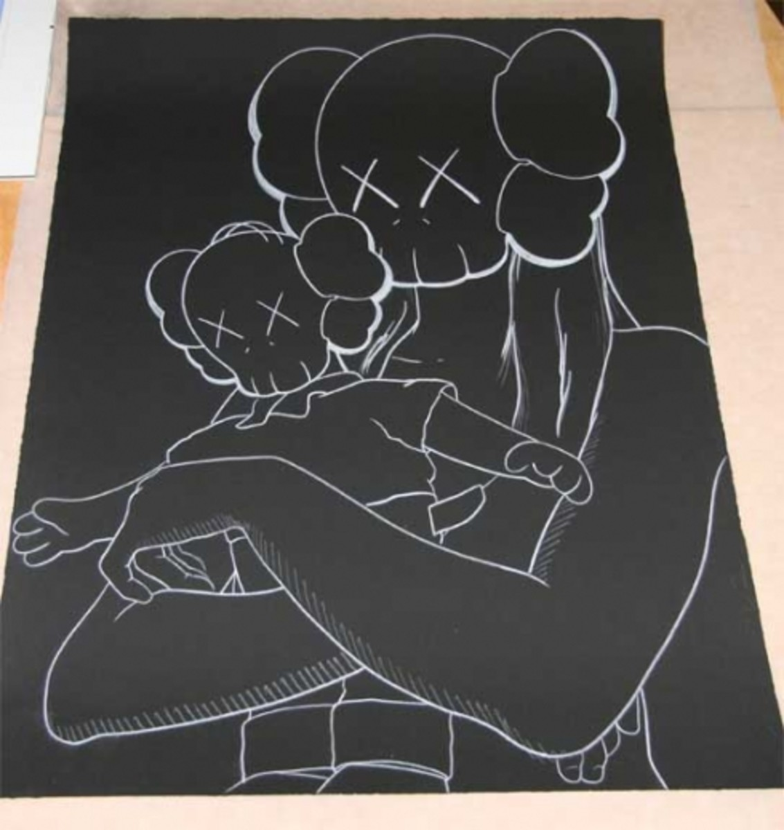 HSNY - Block Party Contemporary Art Silent Auction - KAWS