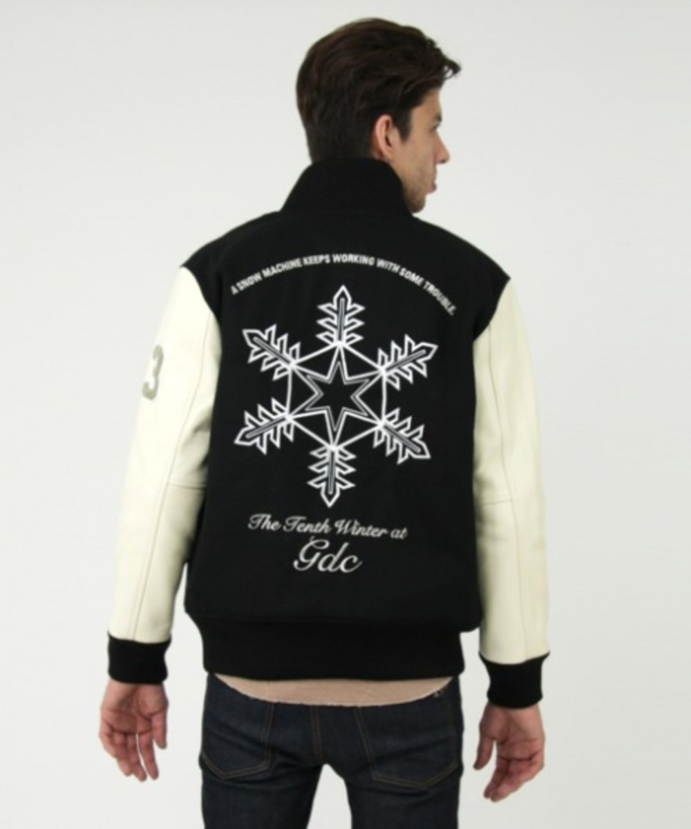 GDC - 10th Anniversary Stadium Jacket - Snow Crystal