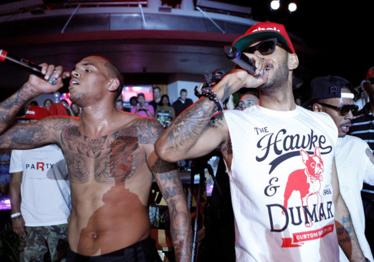 Swizz & Chris Brown 2
