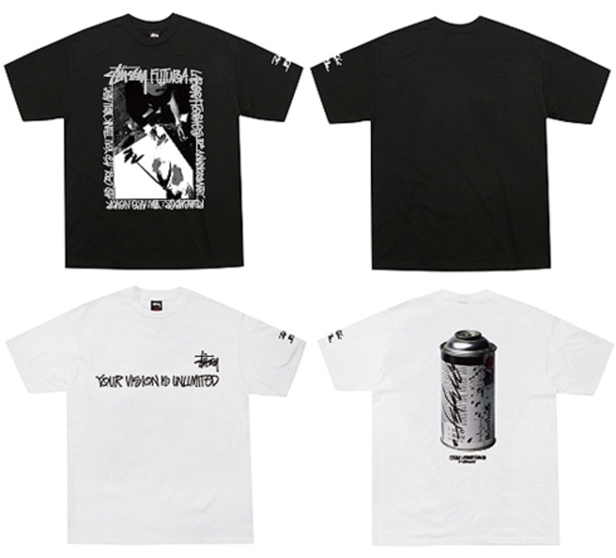 Stussy x FUTURA LABORATORIES - 10th Anniversary T-Shirt