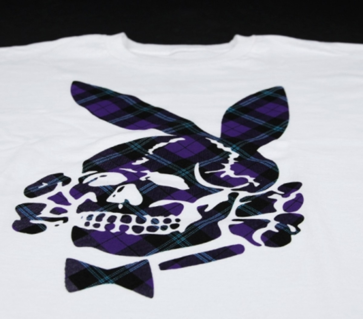 FUCT - Fall/Winter 2008 T-Shirts - Flannel Death Bunny Tee