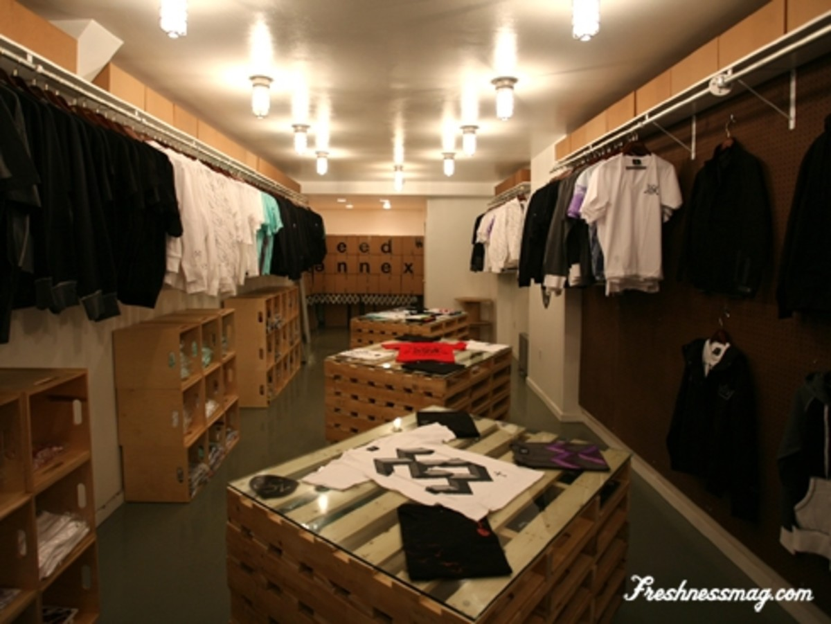 Reed Annex - 3sixteen Pop-Up Store