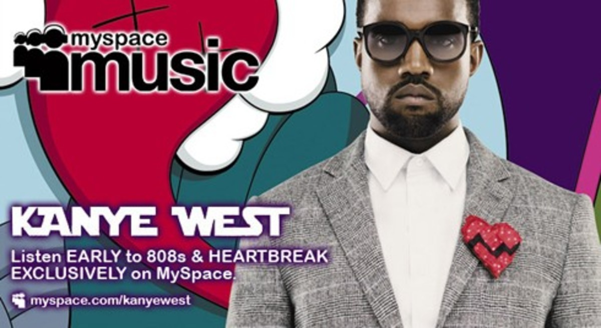 Kanye West - MySpace Music 808s & HEARTBREAK Preview