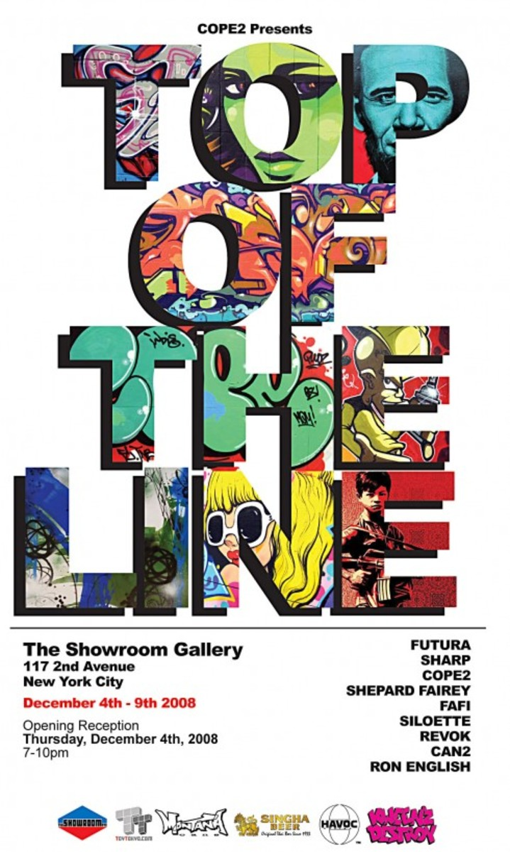 COPE2 Presents Top of the Line Exhibition - 0