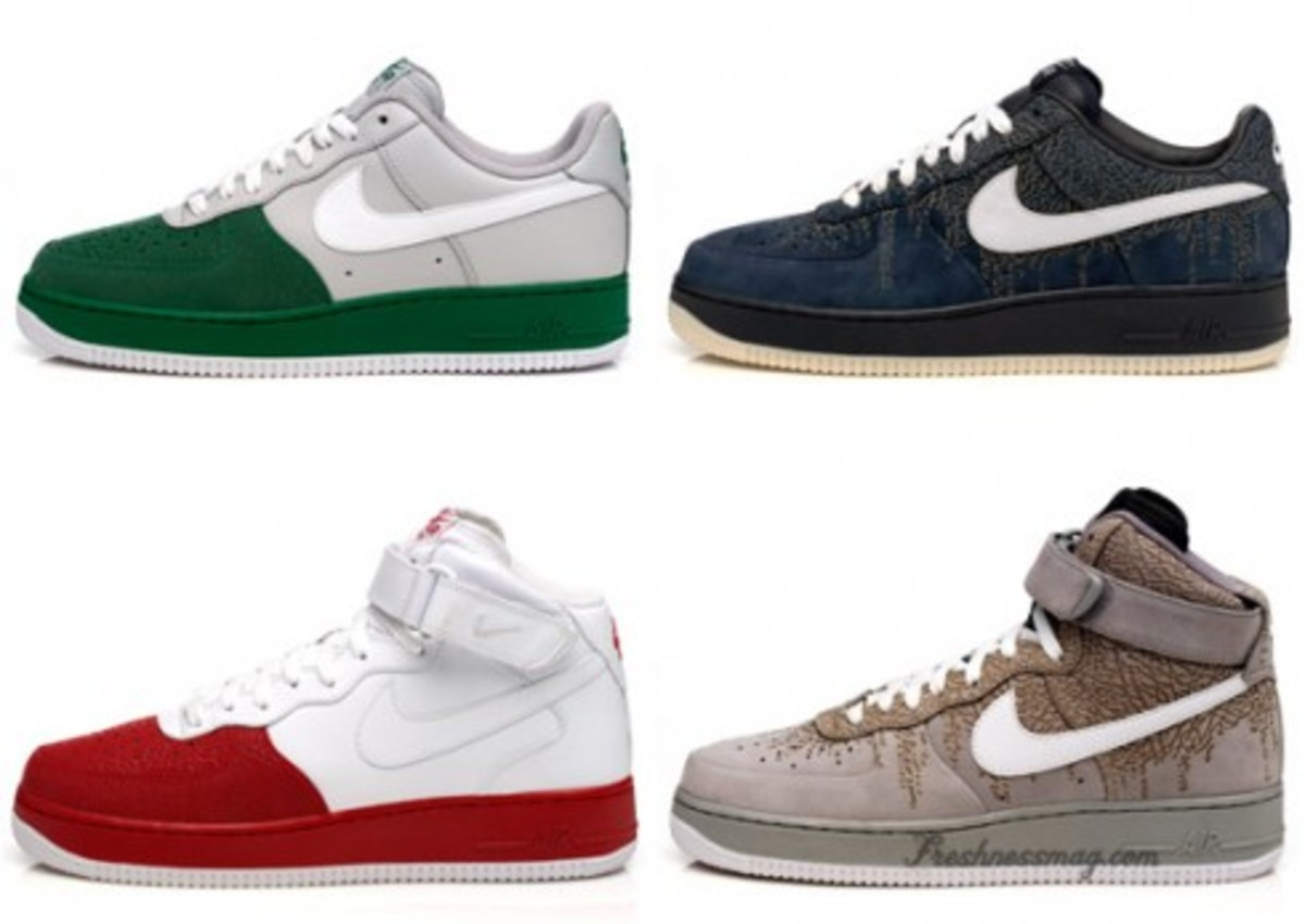 Nike  Air Force 1 - Spring 2009 - Elephant Print Pack - 0