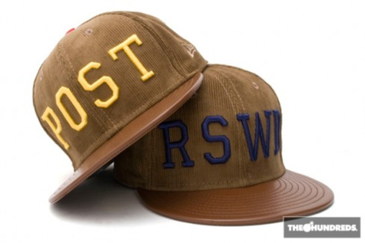 The Hundreds x New Era - RSWD + POST Hats - 3