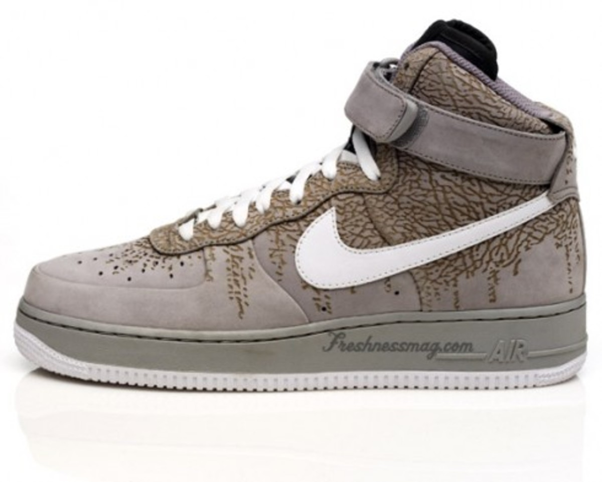 Nike  Air Force 1 - Spring 2009 - Elephant Print Pack - 2