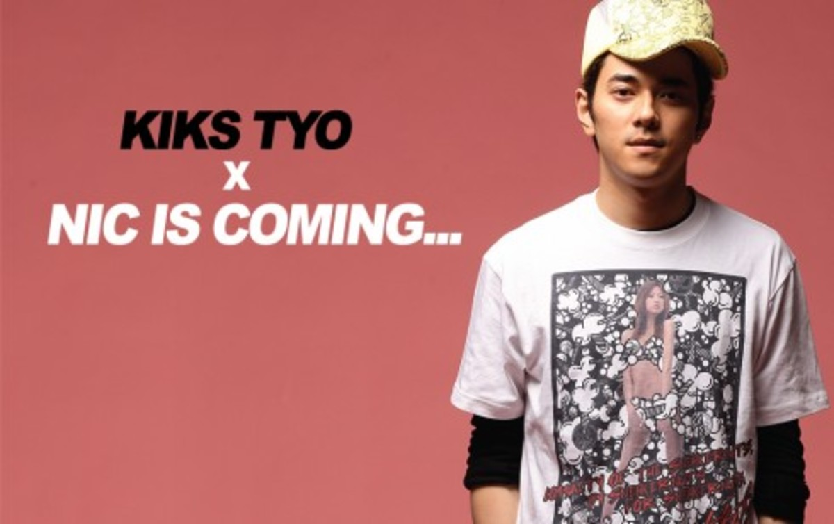 Nic is Coming x KIKS TYO - Collaboration T-Shirt - 0