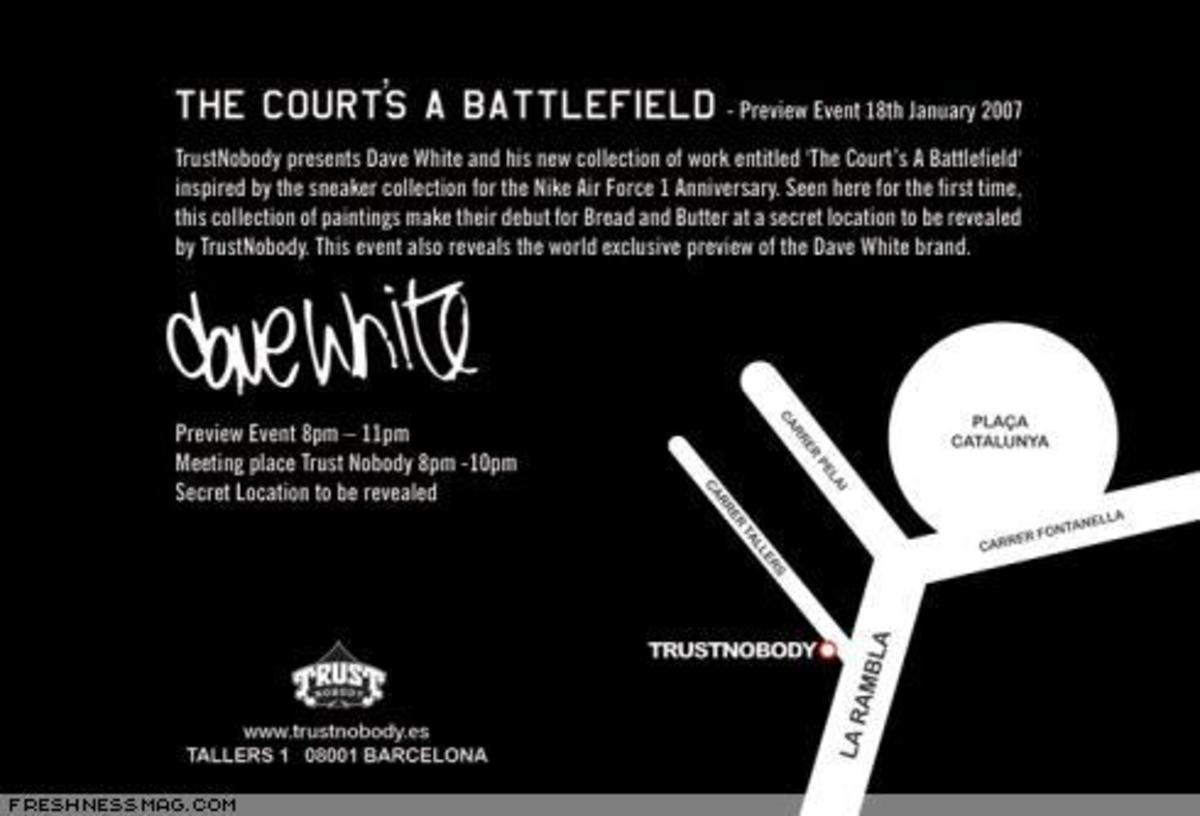 Interview: Dave White - The Court's A Battlefield - 13