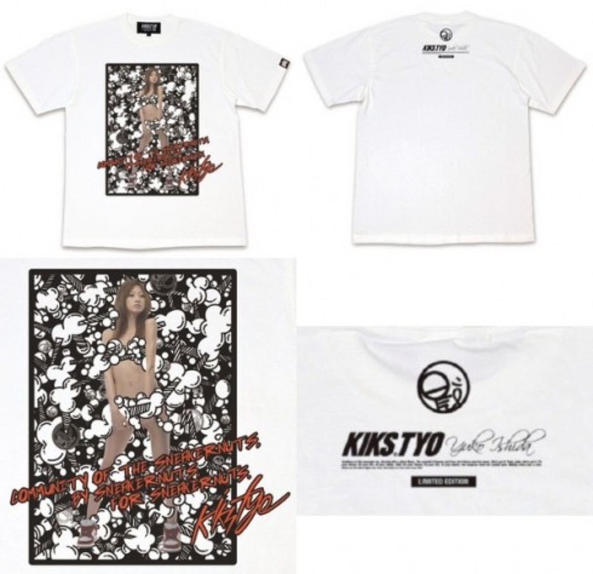 Nic is Coming x KIKS TYO - Collaboration T-Shirt - 2