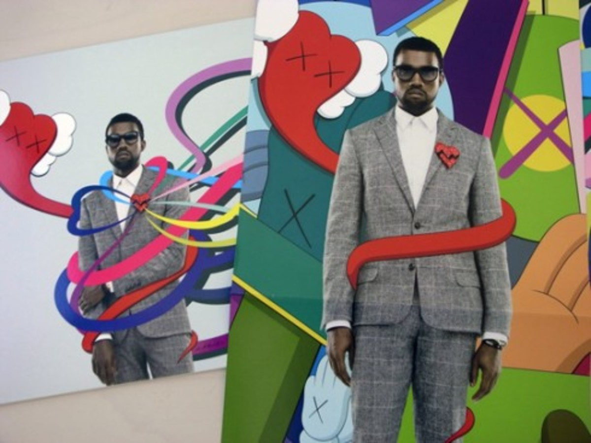 KAWS x Kanye West - 808's and Heartbreak Billboard - 1