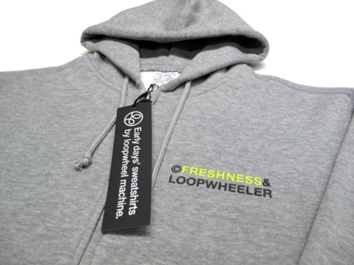 Freshness x Loopwheeler - Hooded Sweatshirt