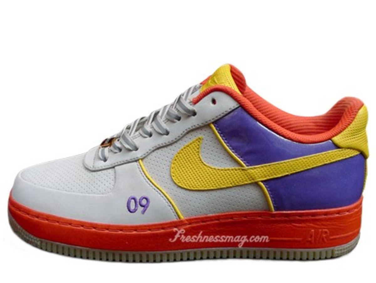 Nike Air Force 1 (AF1) - NBA All Star Game 2009 by DJ Clark Kent + Stark a000d3731